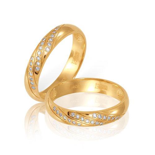 Обручальное кольцо Арт. 04-0054