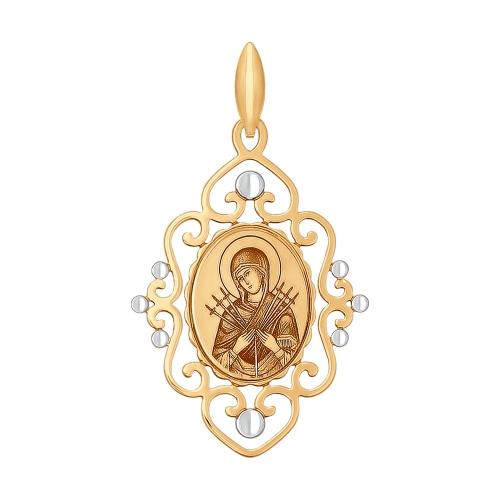 Иконка Божьей Матери Семистрельная Арт. 101705