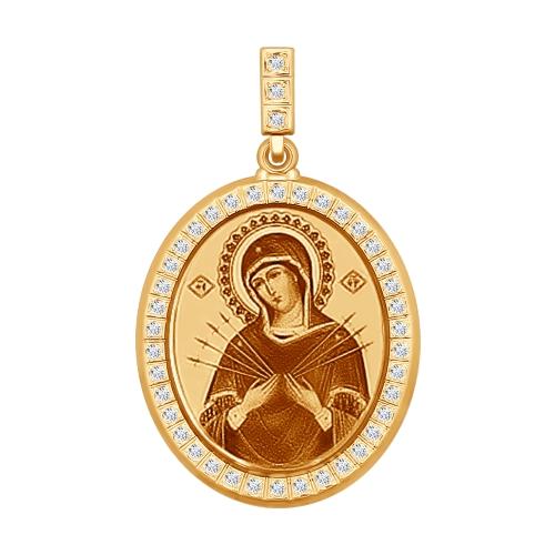 Иконка Божьей Матери Семистрельная Арт. 103256