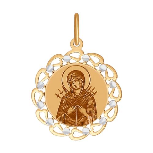 Иконка Божьей Матери Семистрельная Арт. 103383