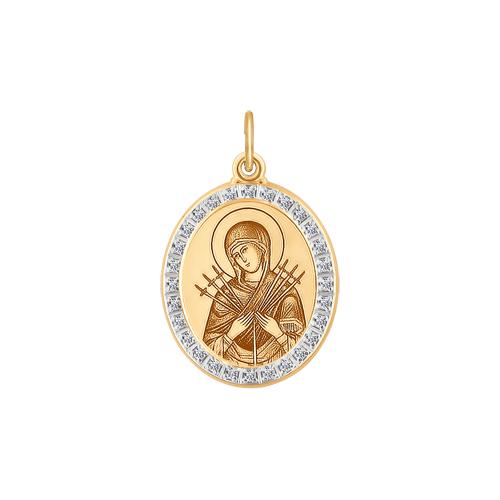 Иконка Божьей Матери Семистрельная Арт. 103425