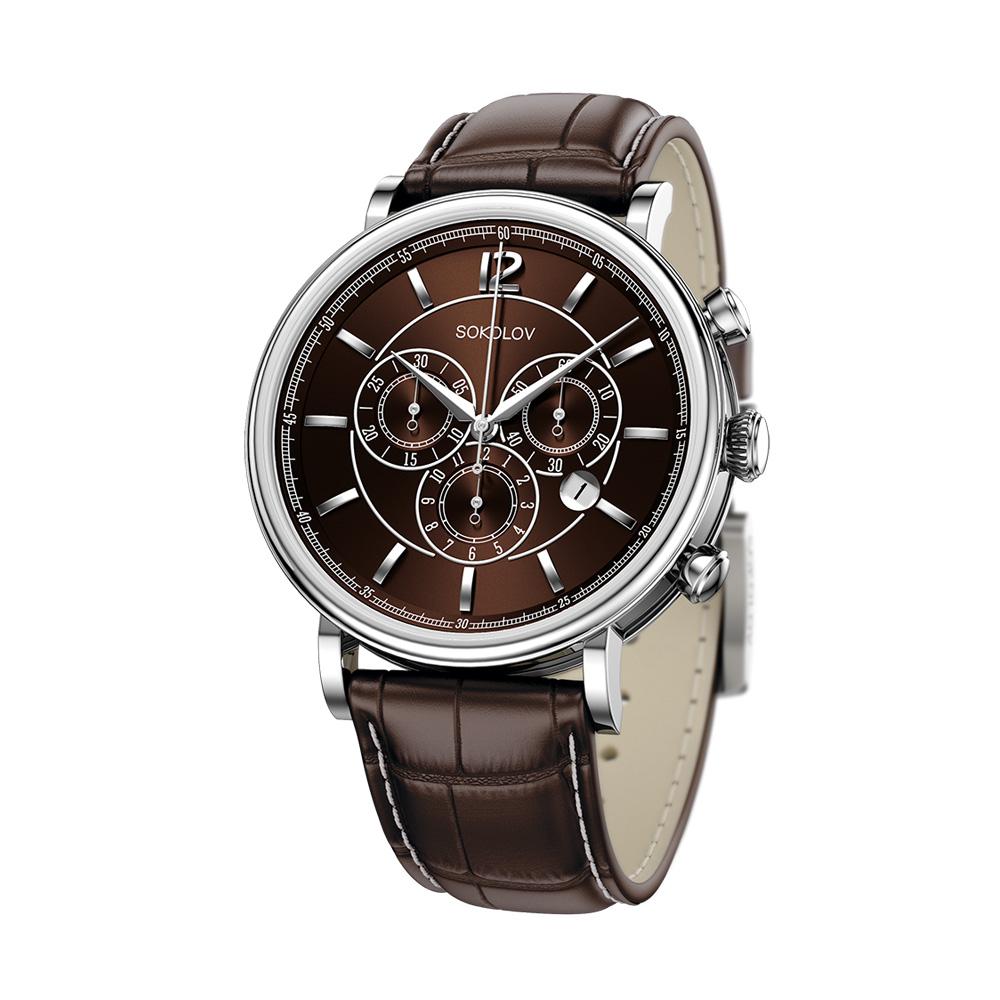 Мужские серебряные часы арт. 125.30.00.000.06.02.3