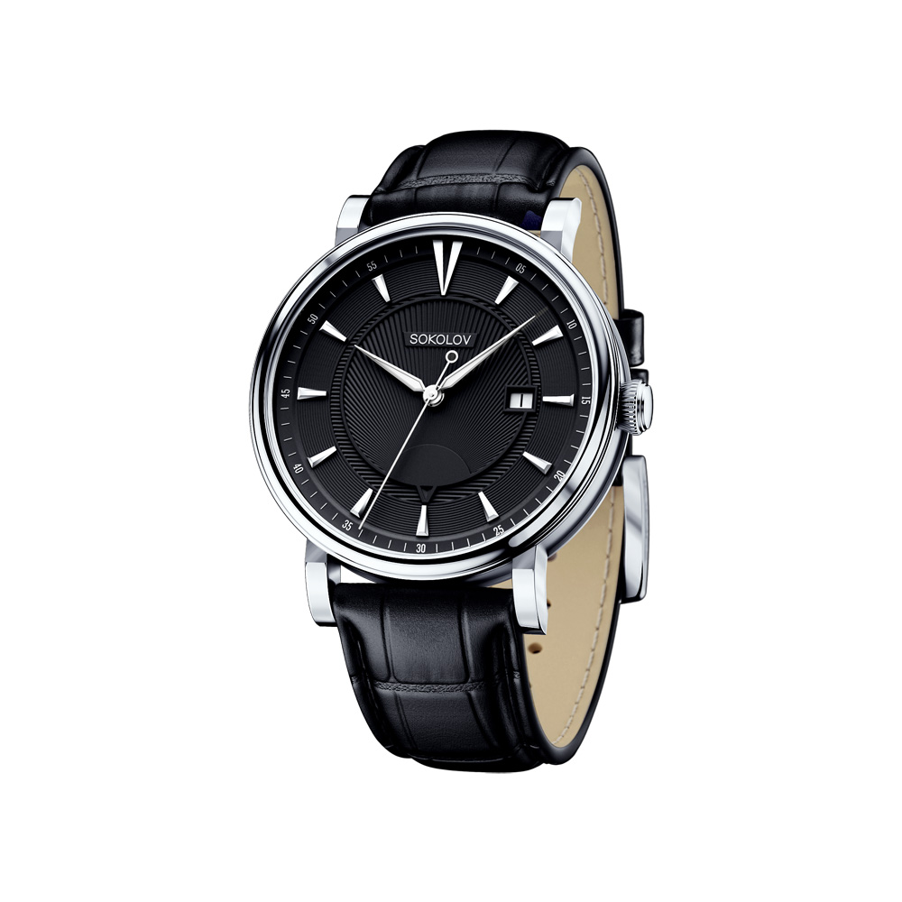 Мужские серебряные часы, арт. 101.30.00.000.05.01.3