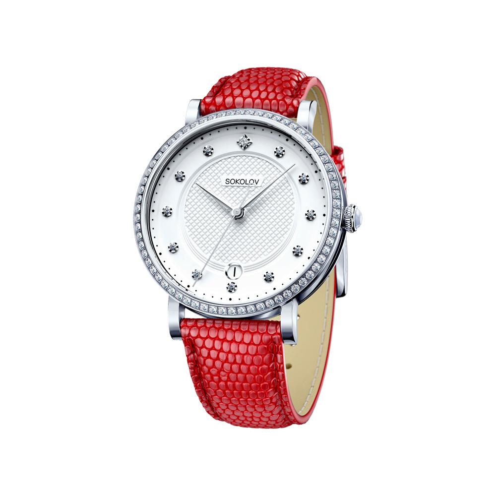 Женские серебряные часы, арт.  102.30.00.001.04.03.2