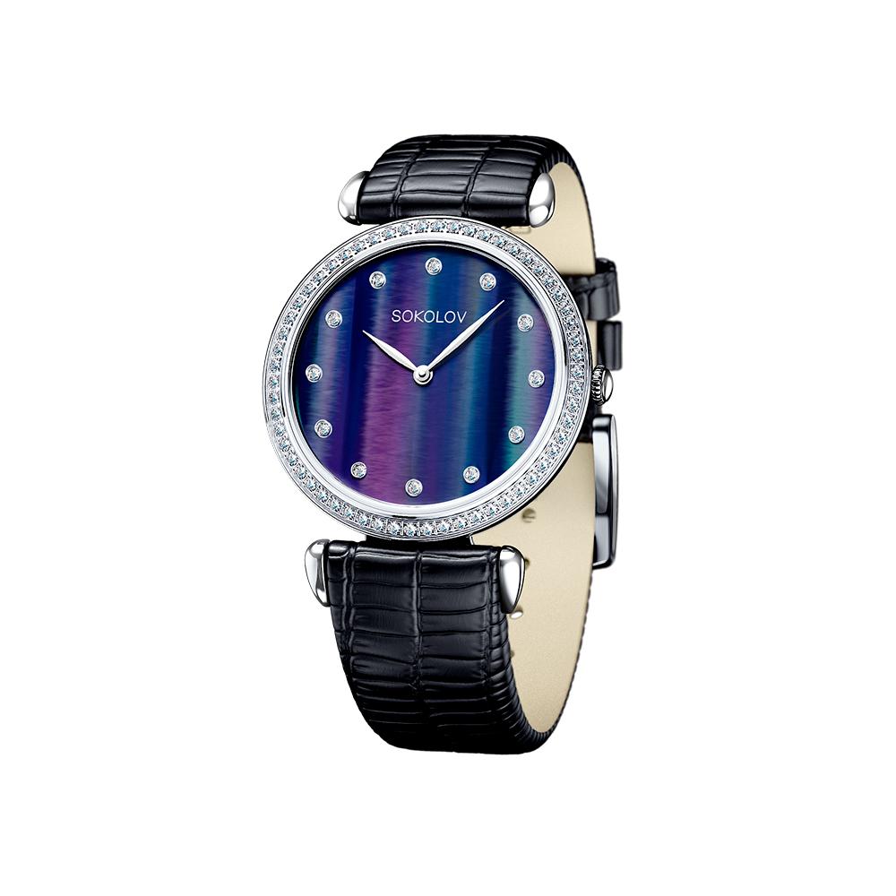 Женские серебряные часы, арт. 106.30.00.001.06.01.2