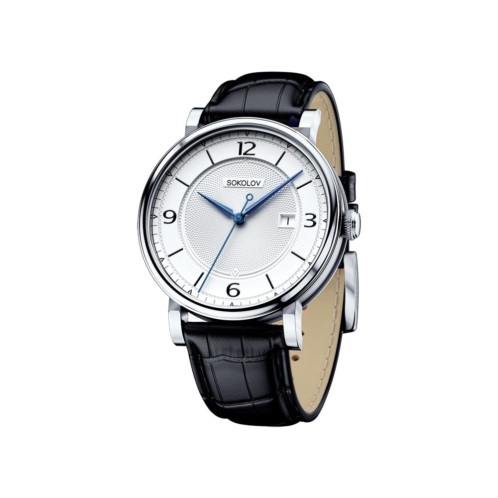 Мужские серебряные часы, арт. 101.30.00.000.03.01.3