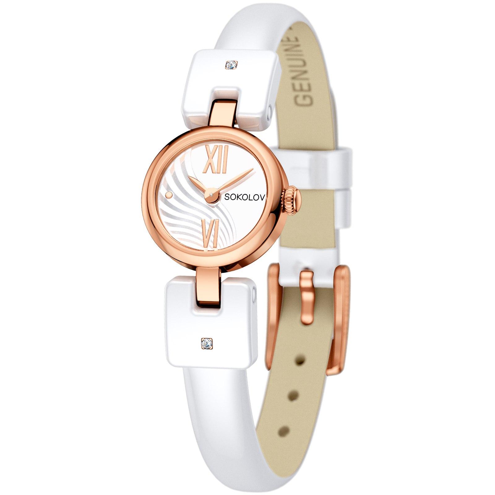 Женские золотые часы, арт. 117.01.01.001.03.01.3