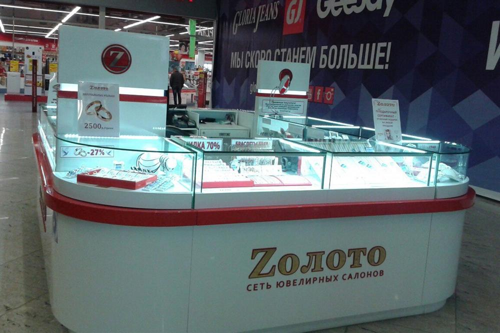 Ювелирный бутик Zолото - Ухта ТРЦ Ярмарка (фото 1)